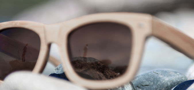 sunglasses with reflection - reflect in the daily Examen