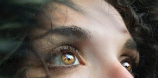 staring eyes