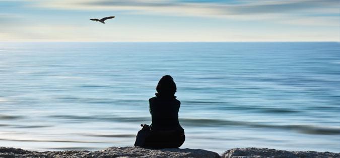 contemplation - seaside