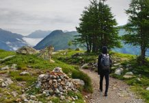 mountain hike
