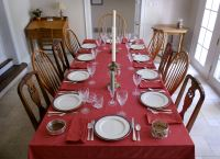 A Place at the Table. Andy Otto Social Justice. table set for dinner & A Place at the Table - Ignatian Spirituality