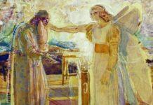 Zechariah and Gabriel - Alexander Andreyevich Ivanov [Public domain], via Wikimedia Commons