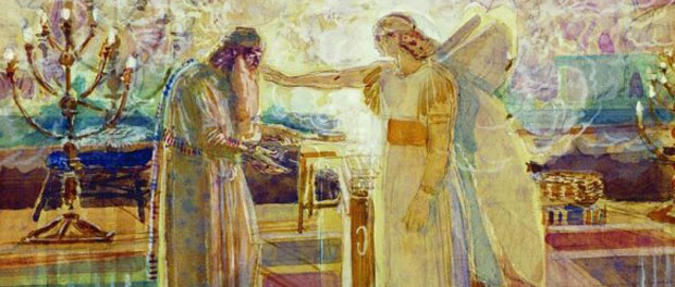 Zechariah and Gabriel - Alexander Andreyevich Ivanov [Public domain], via Wikimedia Commons