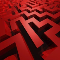 contrast - maze