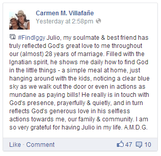 Carmen V response to FindIggy