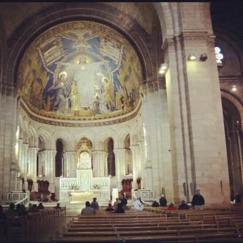 Sacre Coeur interior