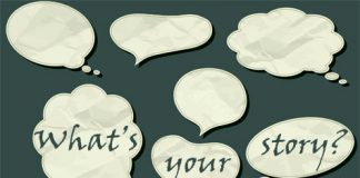 What's your story? - speech bubbles
