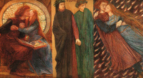 Rossetti-Paolo and Francesca da Rimini