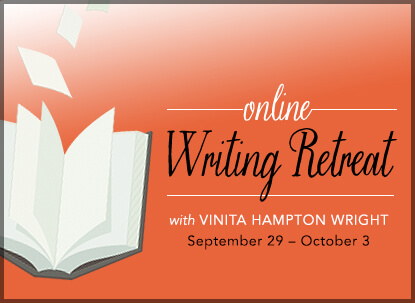 online writing retreat with Vinita Hampton Wright