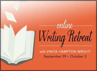 online writing retreat with Vinita Hampton Wright