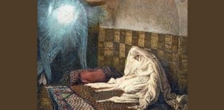 """The Annunciation"" by James Tissot"