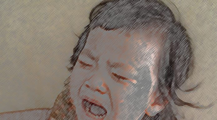 crying child - photo by Warunee at Morguefile.com [modified]