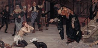 Return of the Prodigal Son (detail) by James Tissot