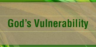 Lenten Meditations: God's Vulnerability