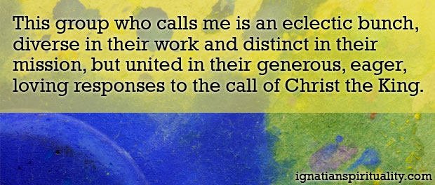 Call of the King quote - Spiritual Exercises