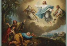 "Francesco Zuccarelli, ""Landscape with the Transfiguration of Christ"""