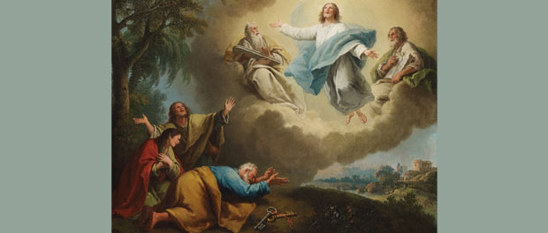 "Francesco Zuccarelli, ""Landscape with the Transfiguration of Christ"""