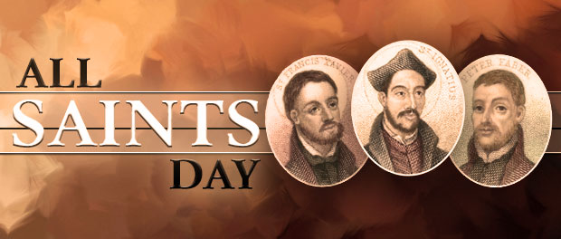 All Saints Day - featuring Jesuit saints