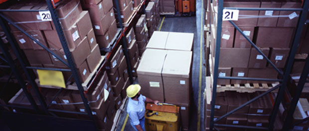 warehouse boxes