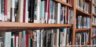 bookshelves - courtesy of Grace Muldoon