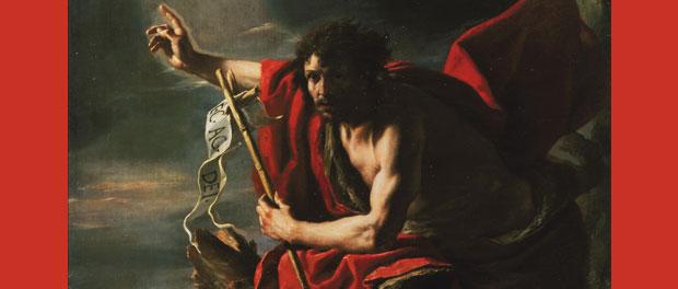 """Mattia Preti - """"St. John the Baptist Preaching"""""""