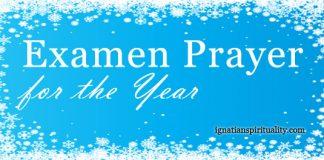 Examen Prayer for the Year