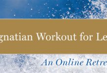 The Ignatian Workout for Lent: An Online Retreat (banner)
