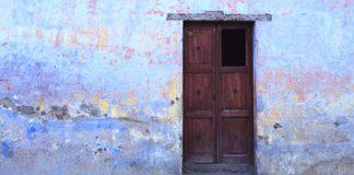 door missing panel