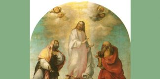 "Lorenzo Lotto - ""The Transfiguration of Christ"" detail"