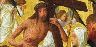 "Geertgen tot Sint Jans - ""Christ as Man of Sorrows"" (cropped)"
