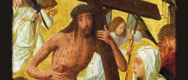 "Geertgen tot Sint Jans - ""Christ as Man of Sorrows"" (cropped)"