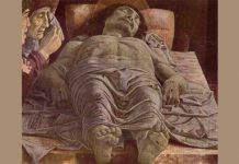 "Mantegna - ""The Dead Christ (Lamentation of Christ)"""