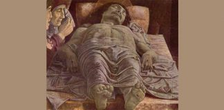 "Mantegna - ""The Dead Christ (Lamentation of Christ)"""