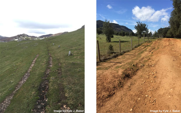 Camino Ignaciano paths 3 and 5