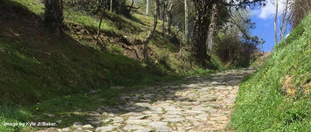 Camino Ignaciano path 4