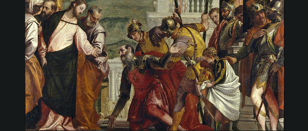 "Paolo Veronese - ""Jesus and the Centurion"" - Public domain via Wikimedia Commons"