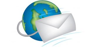 e-mail letter goes around the world
