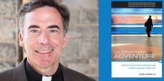 Kevin O'Brien, SJ and The Ignatian Adventure book cover
