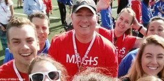 Mike Hayes and MAGIS 2016 group