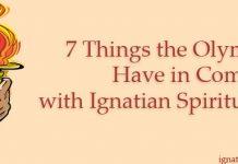 Olympics and Ignatian spirituality
