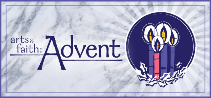 Arts & Faith: Advent series logo