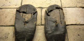 shoes of St. Ignatius Loyola