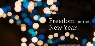 freedom for the new year - lights