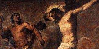 """Arts & Faith: Lent - Titian - """"Christ and the Good Thief"""""""