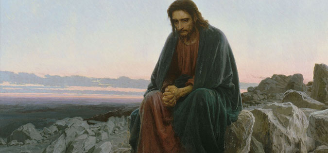 "Arts & Faith: Lent - Ivan Kramskoi - ""Christ in the Desert"""