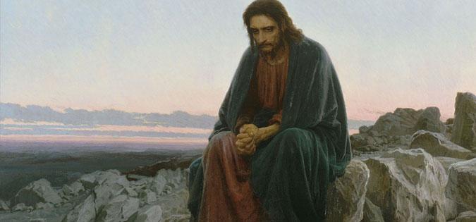 """Arts & Faith: Lent - Ivan Kramskoi - """"Christ in the Desert"""""""