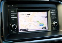 car GPS - recalculating