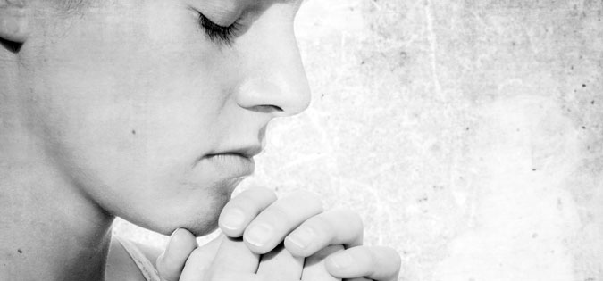 woman in prayer