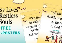 Busy Lives & Restless Souls Free Mini-Posters