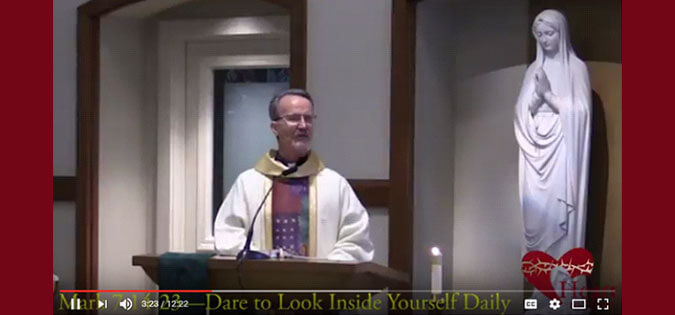 Fr. Michael Sparough, SJ - Examen video
